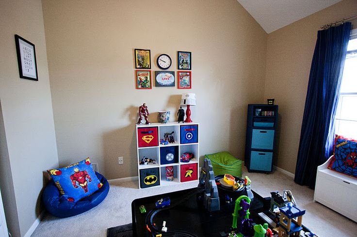 Since I've Been Planning On Making The Playroom Superhero