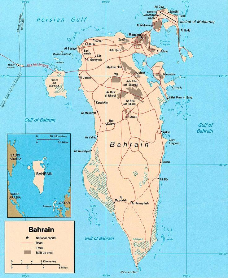 Kinaroroonan ng Bahrain // Bahrain pol 2003 ◆Barein - Wikipedia https://tl.wikipedia.org/wiki/Barein #Bahrain