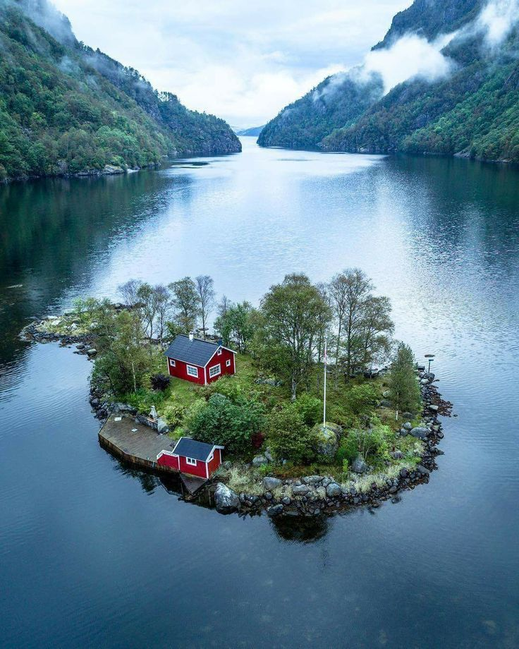 A dream house in Norway