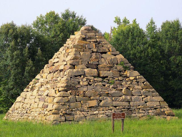 Meade Pyramid, Fredericksburg and Spotsylvania National Military Park, Fredericksburg, VA by Dean Jeffrey, via Flickr