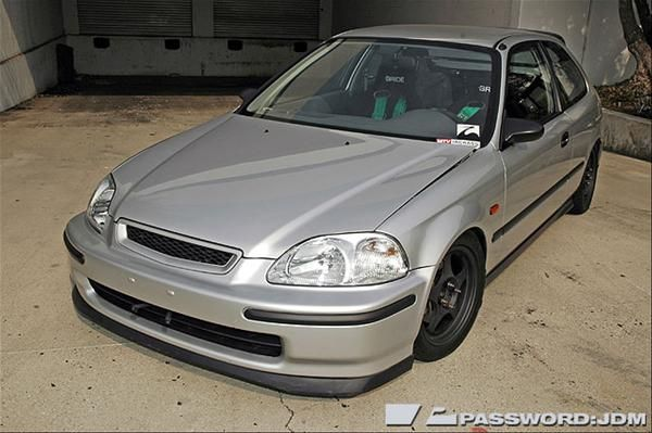 Civic+EK+Sedan | JDM EK '96-'98 Civic SiR Front Bumper ...