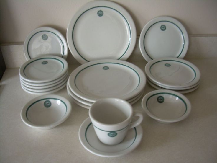 Lot of 16 Vintage Michigan State College Tailgate Restaurant Ware Shenango China #Shenango & 508 best Restaurant Ware Dishes images on Pinterest | Dinnerware ...
