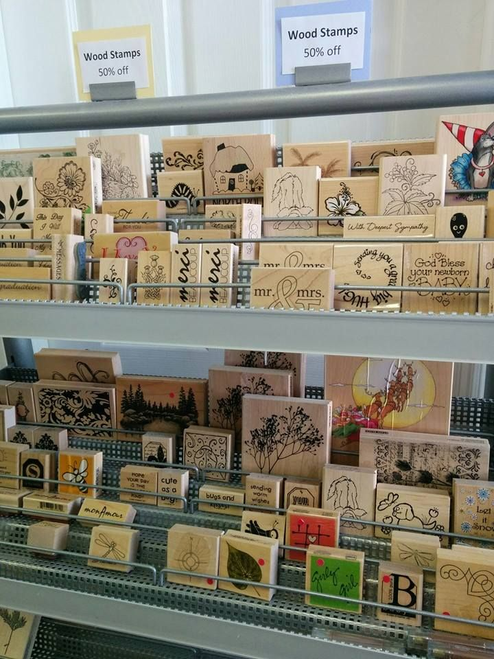Studio BBG Blow Out Sale - Wood Stamps