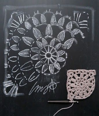 omⒶ KOPPA: Kukkamandalaruutu - VILLATAKKI - omA variaatio