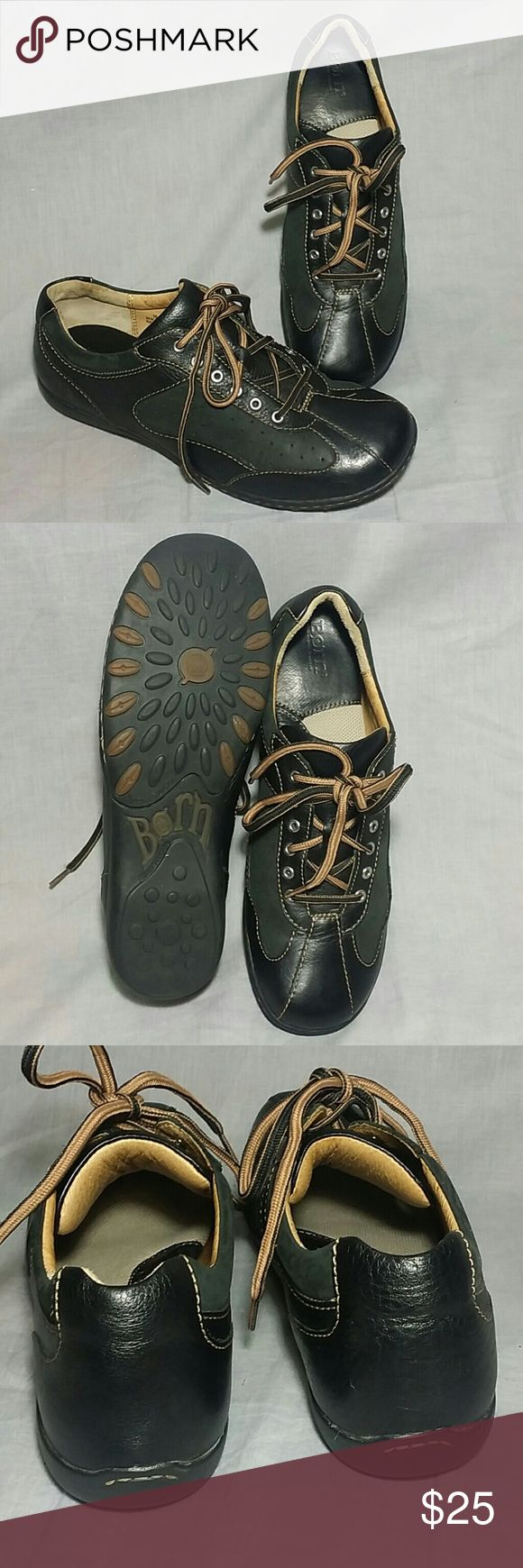 Women's Born Shoes Black 10 M Leather Lace-ups Item has a good condition ( please check my bundle discount thanks for visiting ). Born Shoes