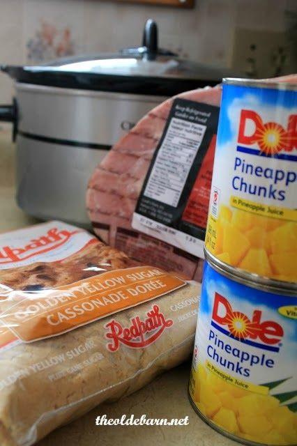 The Olde Barn: Crock-pot Ham Recipe