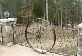 wagon wheel gate - Bing Images