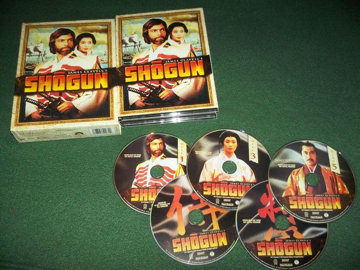 SHOGUN~DVD~RICHARD+CHAMBERLAIN,+TOSHIRO+MIFUNE~5+DVD+SET~+1980+JAPAN+SAGA