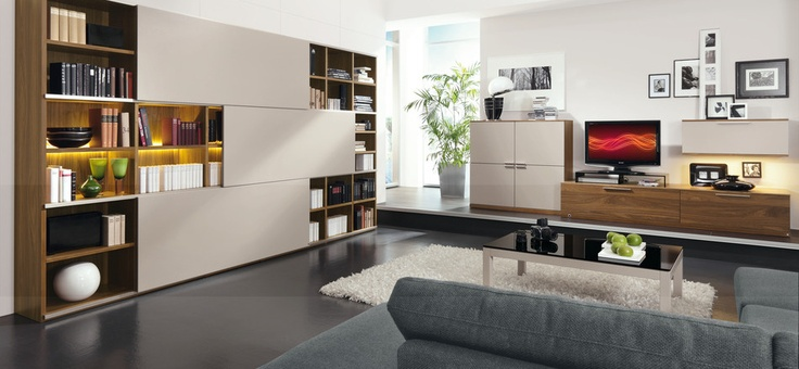 Nice way of storing books and stuff. Kara by Musterring