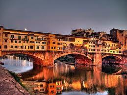 "Florence, ""Ponte Vecchio""."