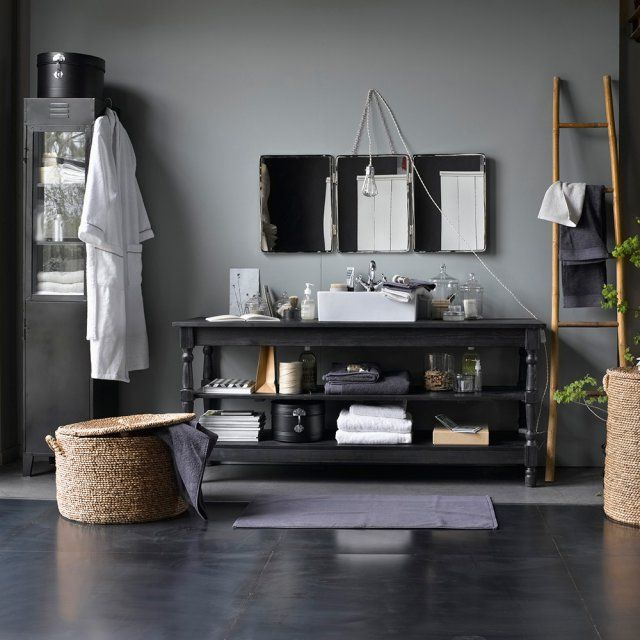 123 best ✧ Déco - Salle de bain ✧ images on Pinterest Bathroom - customiser un meuble de salle de bain