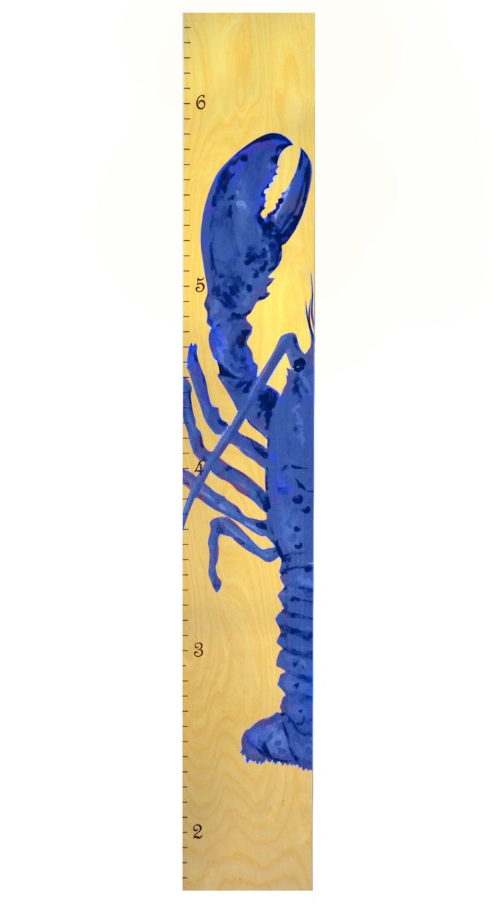 70 best our growth charts images on pinterest wood growth charts blue lobster wooden growth chart wood height chart for kids nvjuhfo Gallery