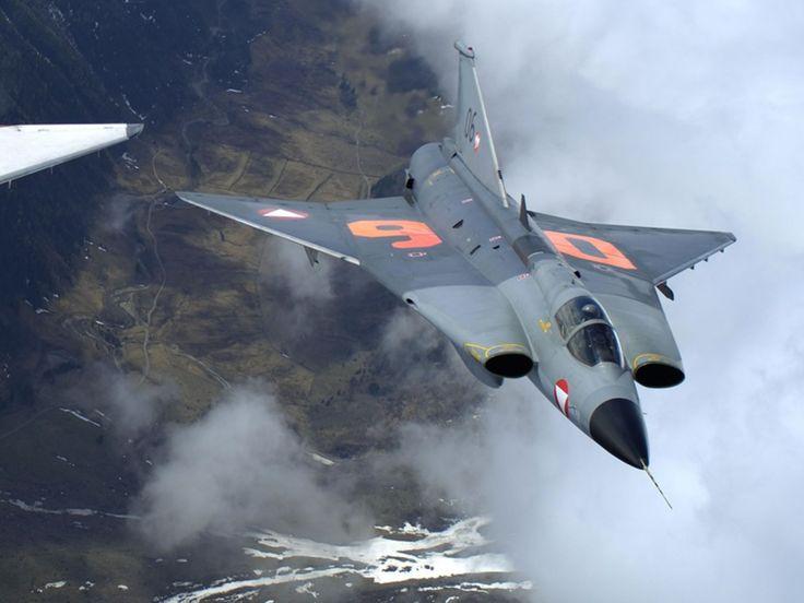 """Saab S 35 Draken (""""Dragon"""") - Österreichische Luftstreitkräfte (Austrian Air Force), Austria"""