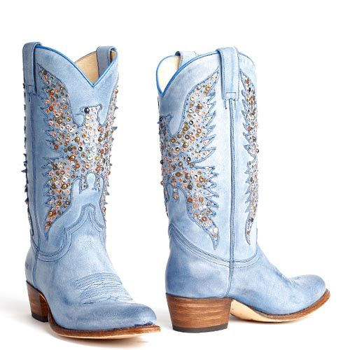 Sendra laarzen 8987 Sara Sabia Azul Jeans blauw - Jeans blue boots with a studded eagle. Also available in brown. International shipping -> free shipping in Europe. E-mail us! https://www.boeties.nl/sendra-8987-sara-sabia-jeans-blauw