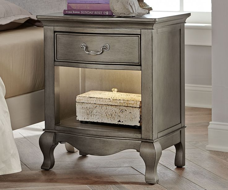 Kids Bedroom Nightstands best 25+ silver nightstand ideas on pinterest | silver bedroom
