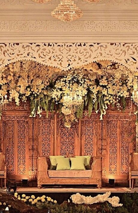 Java Indonesia wedding decor | Pade2 jawa