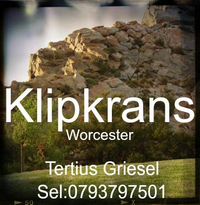 Klipkrans - Worcester omgewing. Heerlike kampplek - die moeite werd om te besoek. http://www.lekkerkampplekke.co.za/index.php/breederivier-vallei/worcester/klipkrans-pri-wildplaas