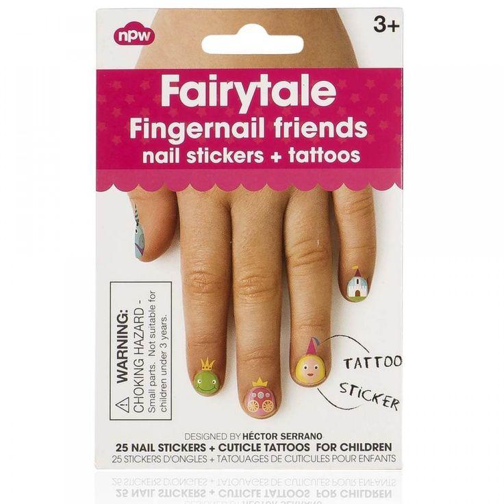 Fingernail Friends Nagelsticker und Tattoos FAIRYTALE