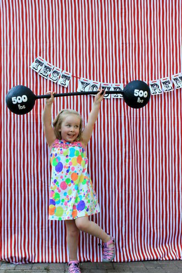 Best Kids Parties: The Circus My Party. I love the idea of a temporary tattoo station, face painting, vendors, etc. This would definitely make me crazy but I would have so much fun doing it!