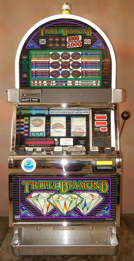 triple diamond deluxe slot machine for sale