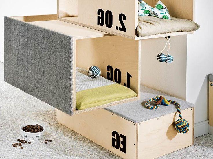 ber ideen zu katzenm bel auf pinterest kratzb ume katzenb ume und kratzbaum. Black Bedroom Furniture Sets. Home Design Ideas