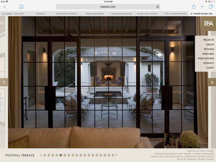 Die besten 25+ Französische türen terrasse Ideen auf Pinterest - beispiel mehrstufige holzterrasse