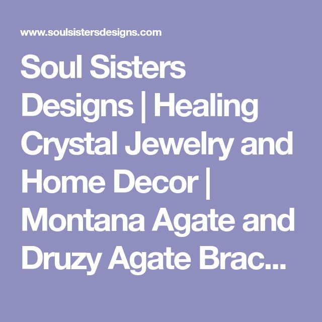 Soul Sisters Designs | Healing Crystal Jewelry and Home Decor | Montana Agate and Druzy Agate Bracelet with Brass Lotus Charm
