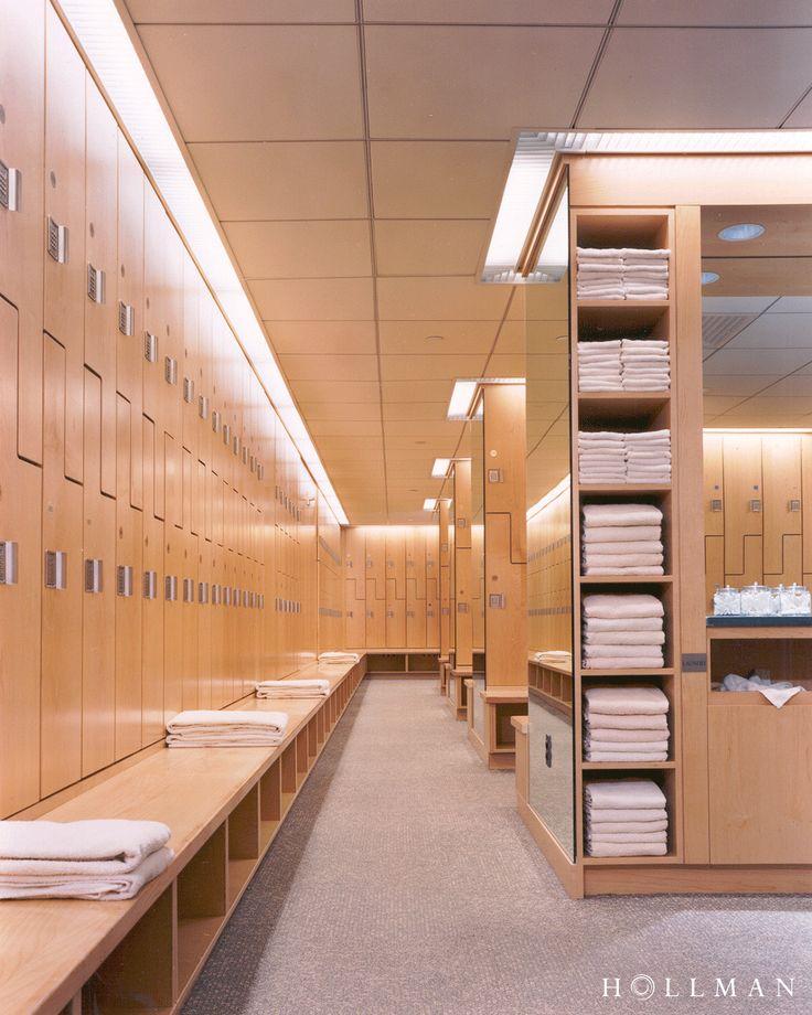 Workspace Lockers Designed By Hollman Gym Design Interior Lockers Gym Design