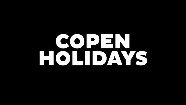 Copen Holidays on Vimeo