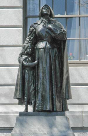 life of anne marbury hutchinson July 17, 1591: anne marbury - born in alford, lincolnshire, england 1612: anne marbury marries william hutchinson 1630: a flotilla of 11 ships with over 1,000 puritans set sail from england to new england.