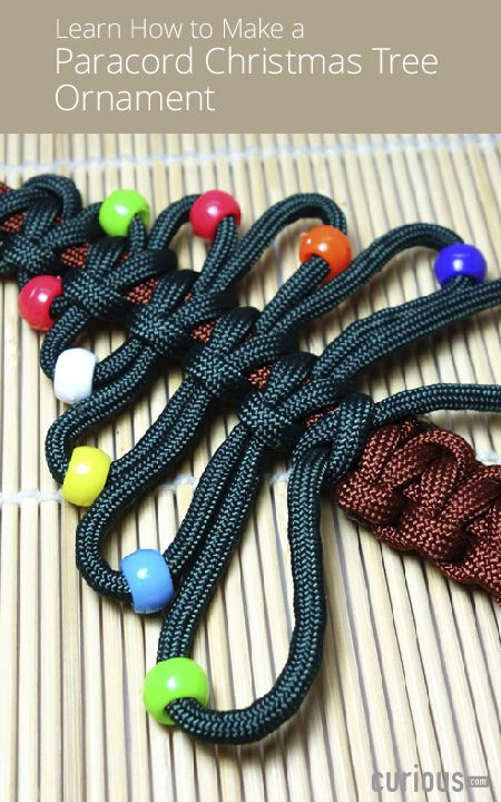Learn How to Make a Paracord Tree Ornament