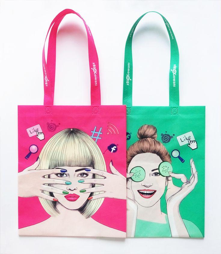 #beauty #woman #illustration #bags