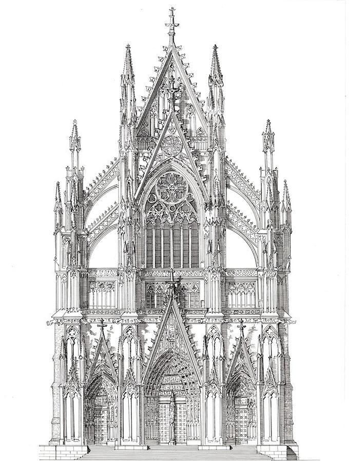 cathedral facade - Google Search