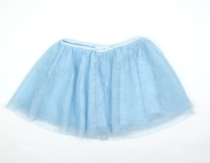 Toddler Light Blue Tutu Skirt with Sparkle by Children's Place in Size 18 Months and Only $4 in Gently Used Baby Clothes Online Resale May Bug Treasures