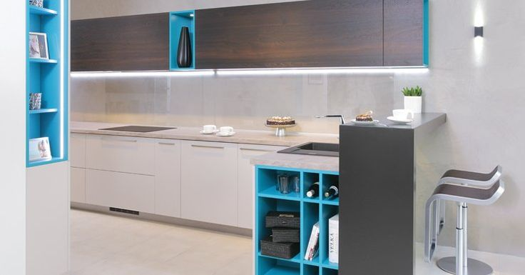 Kuchyňa Pacific blue