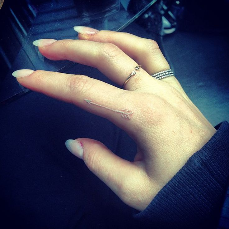 15 Tiny Tattoos You're Going to Obsess Over via Brit + Co.
