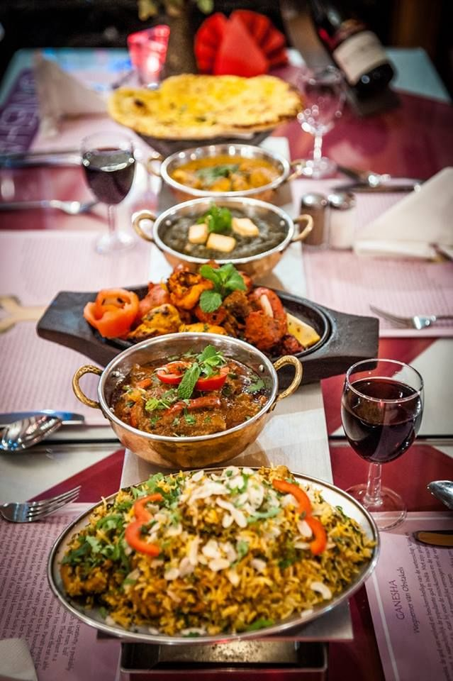 Eat Indian Cuisine At Amsterdam Ganesharestaurant Desifood Indianfood Foodie Food Restaurant Indianfood I Indian Food Recipes Desi Street Food Food