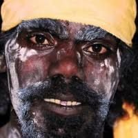Afbeeldingsresultaat voor aboriginal face painting