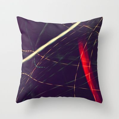 Galaxy Throw Pillow by Doc Maowi - $20.00
