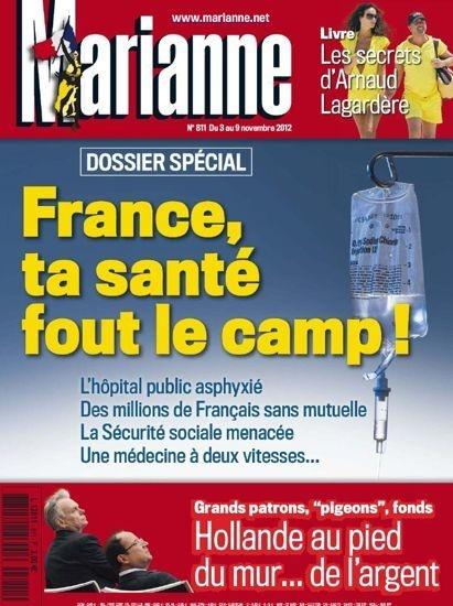 Marianne N°811 du 3 au 9 Novembre 2012...!!!