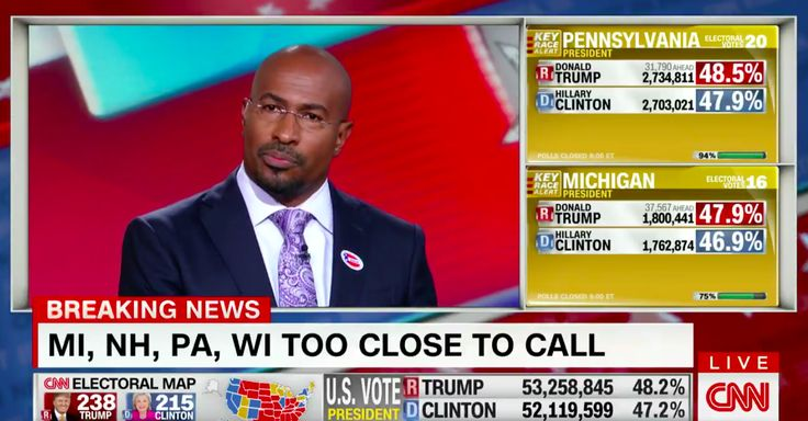 """In response to the election results last night, Van Jones said that it was a """"Whitelash."""" See what he had to say in the video inside."""