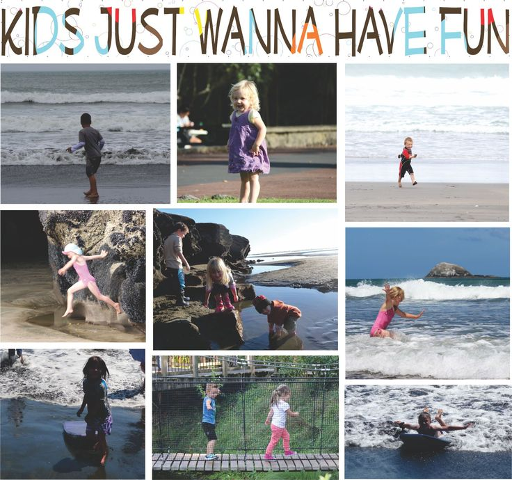 "Our Grandchildren enjoying Muriwai and the zoo... Kids definitely just want to have fun :) and so do we really, we just forget how sometimes?  Check out ""JUST KIDZ"" - A totally natural spray on, leave-in detangler and nit deterrent http://www.essentia.co.nz/webapps/p/109081/394325/just_kids_natural_detangler_nit_treatment.html"