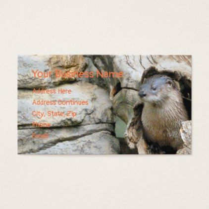 Harry Otter Business Card - photography gifts diy custom unique special