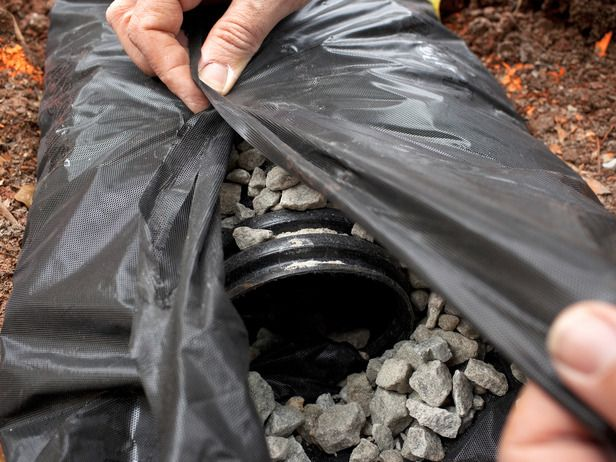 Best 25 french drain ideas on pinterest drainage for French drainage system design
