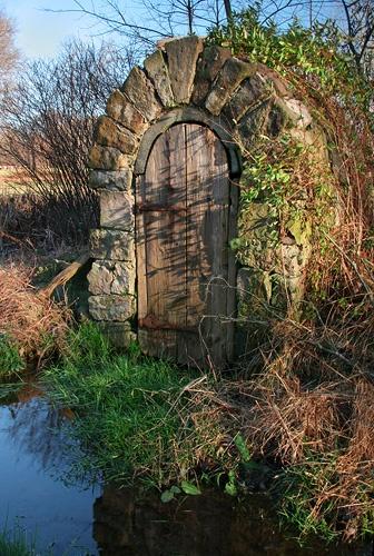 root cellar door