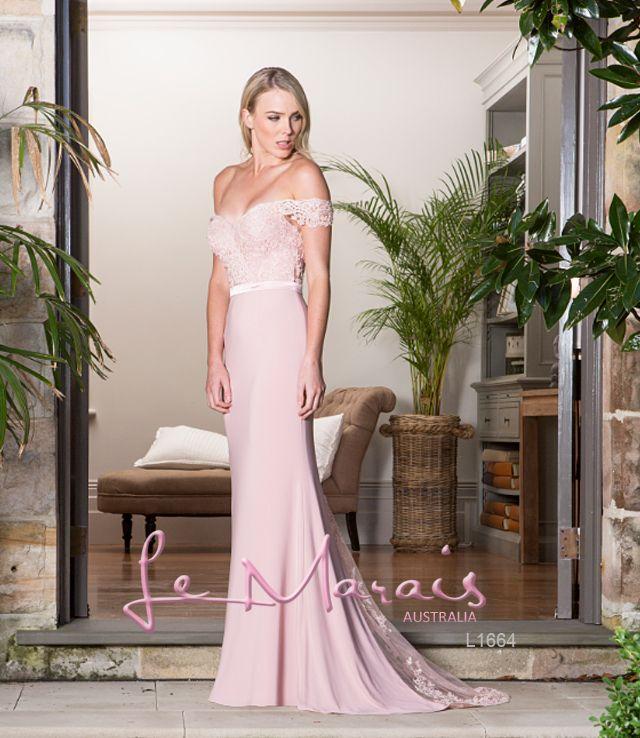 Pink formal dress. #formaldresses #formalgowns #promdress #promdresses