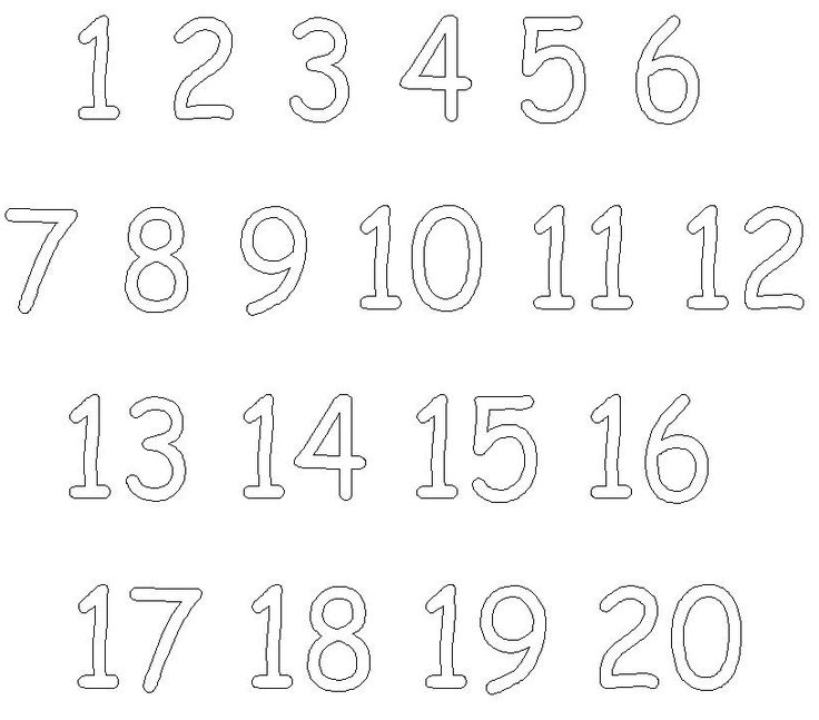 Number Names Worksheets numbers to color : Coloring Pages Numbers 10 20 - Google Twit
