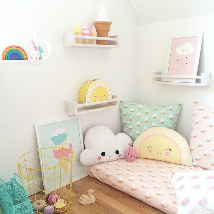 Un joli coussin qui décorera la chambre de votre petit ange !