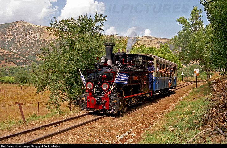 RailPictures.Net Photo: DK 8.001 OSE Hellenic Railways ANCIENS ETAB CAIL at Kalavrita, Greece by Kantiris Nikos