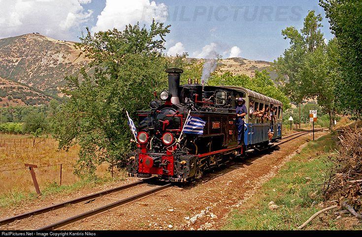 RailPictures.Net Photo: DK 8.001 OSE Hellenic Railways ANCIENS ETAB CAIL at Kalavrita, Greece by Kantiris Nikos